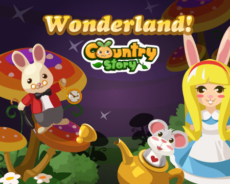 Alice in Wonderland meets Country Story