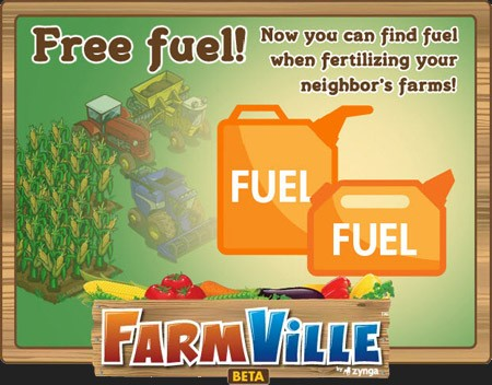 farmville free fuel makes a big comeback