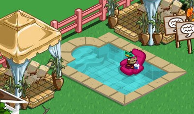 farmville french chateau decorations serene pool
