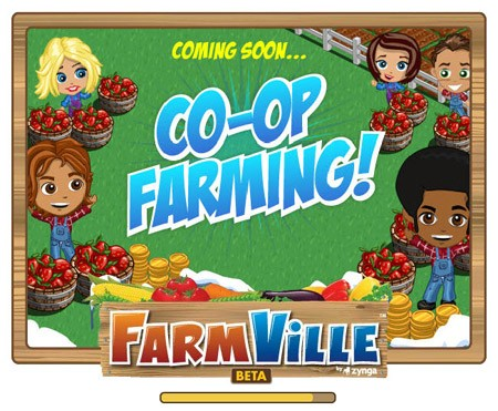 Farmville coop farming loading screen