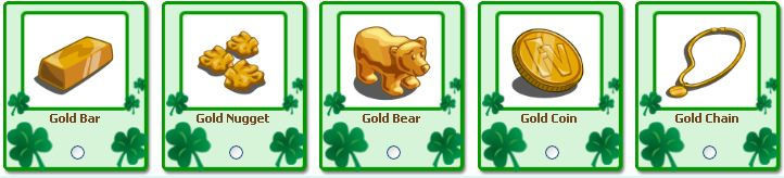 farmville gold gifts for st. patrick's day