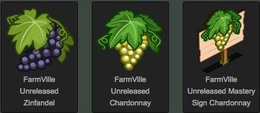 farmville unreleased zinfandel and chardonnay