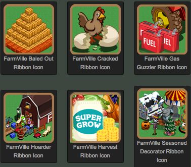 farmville unreleased ribbons