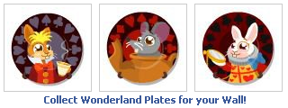 Happy Pets Wonderland Collector's Plates