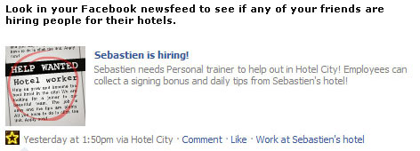 Hotel City Job Notice