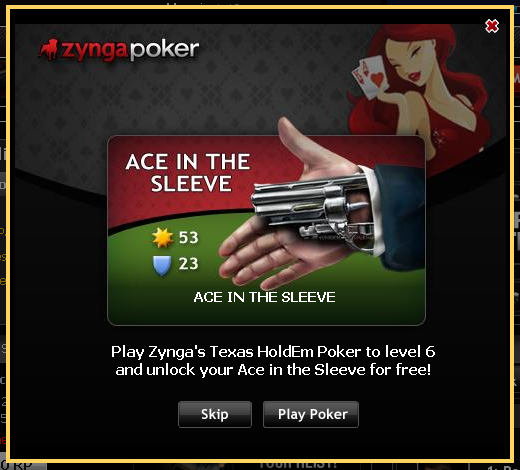 Mafia Wars and Zynga Poker bring you an Ace in the Sleeve