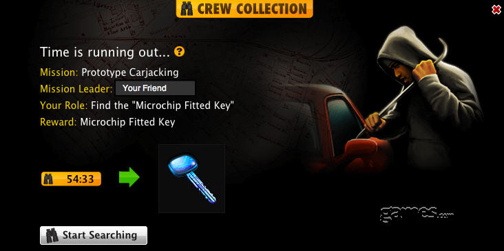 mafia wars crew collections one-hour-time-limit
