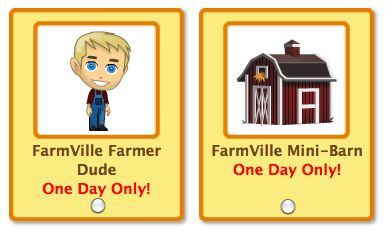 PetVille FarmVill items return for round 2