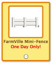 petville farmville mini-fence