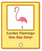 petville yard garden flamingo -- limited edition backyard gift collection