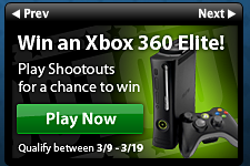March Shootout Zynga Poker tourney Xbox prize