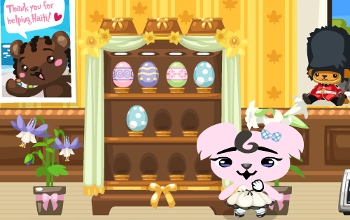 Pet Society Egg Cabinet