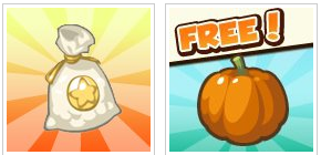 Restaurant City 500 Coins and a Free Pumpkin