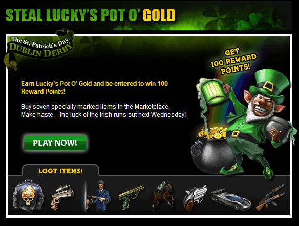 mafia wars lucky's pot of gold