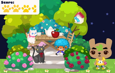 Pet Society Garden Tea Terrace