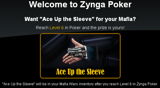Zynga Poker Ace Up the Sleeve