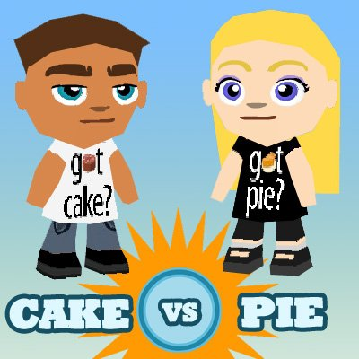 cafe world cake vs pie