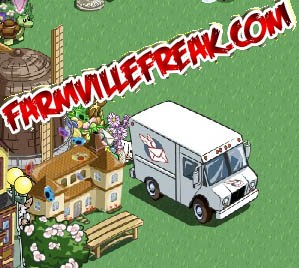 FarmVille Freak CabbagePatchKid's Mail Truck