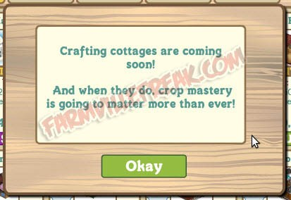 FarmVille Farm Mastery and Crafting Cottages