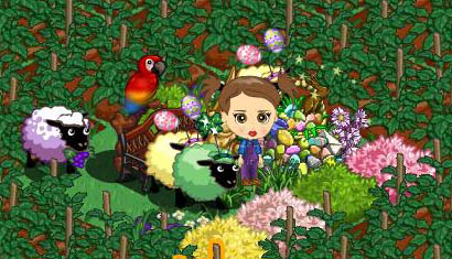FarmVille Freak Jana's Grape Sheep