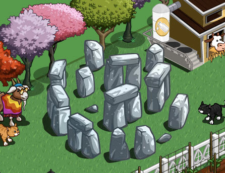 FarmVille Mini Stonehenge