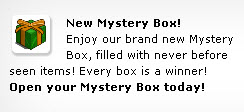 farmville green and gold mystery box