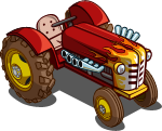 FarmVille Hot Rod Tractor 2