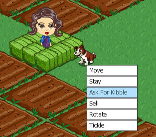 farmville ask for kibble