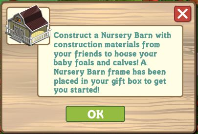 farmville nursery barn arrives