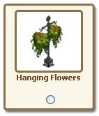 farmville hanging flowers