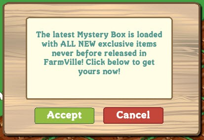 farmville earth day mystery box