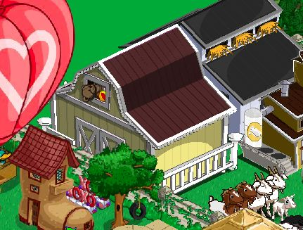 farmville completed nursery barn
