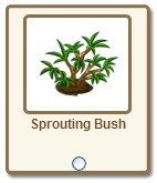 farmville sprouting bush