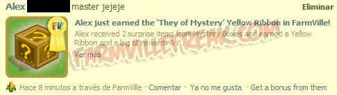farmville they of mystery ribbon