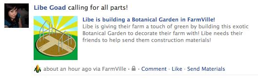 farmville wall post