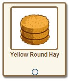 farmville yellow round hay