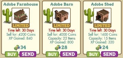 farmville adobe buildings