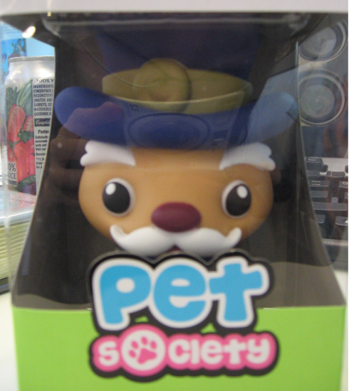 Pet Society Mayor Figurine