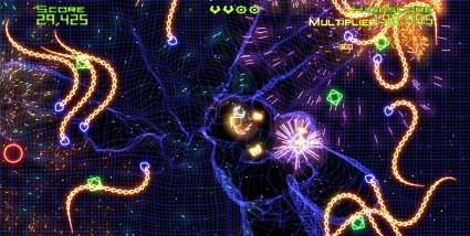 Geometry Wars on iPad