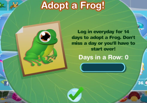 Happy Aquarium Adopt-a-Frog