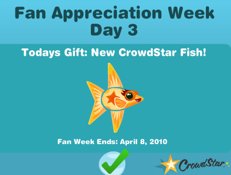 Happy Aquarium New Crowdstar Fish