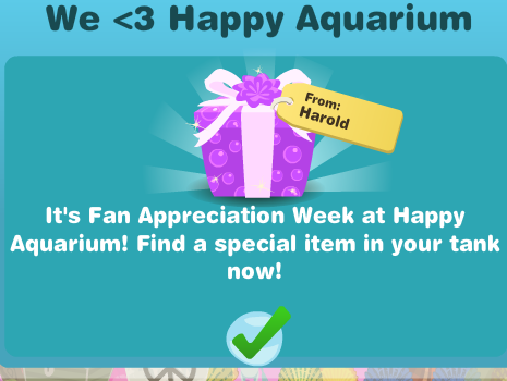 Happy Aquarium Fan Appreciation Week