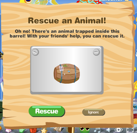 Rescue an Animal! in Happy Aquarium