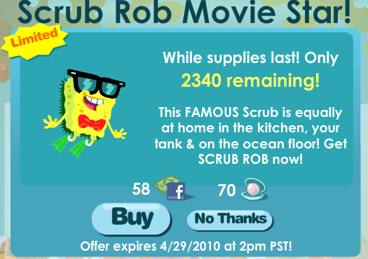 Happy Aquarium's Scrub Rob