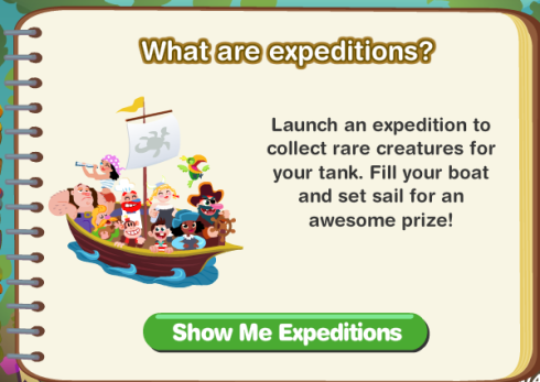What are Happy Aquarium Expeditions?