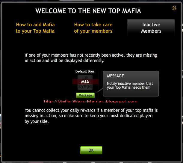 mafia wars top mafia inactive players