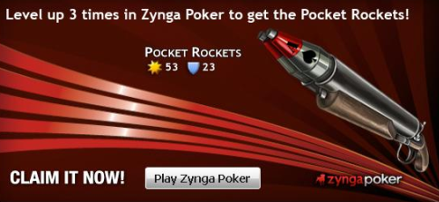 Pocket Rockets for Mafia Wars from Zynga Poker