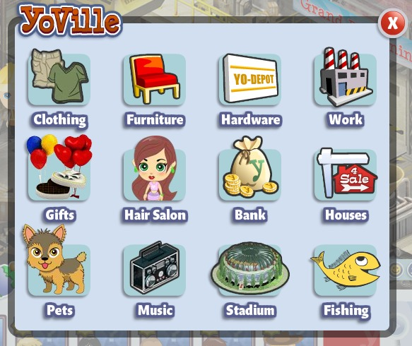 new yoville map