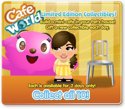 petville cafe world collection: patroness