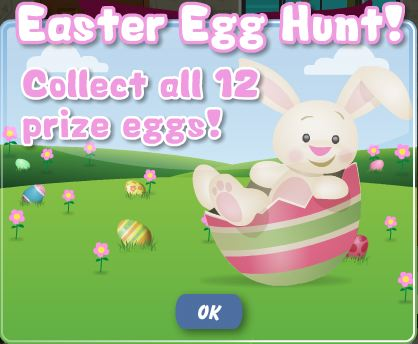 PetVille Easter egg hunt -- collect all 12 prize eggs